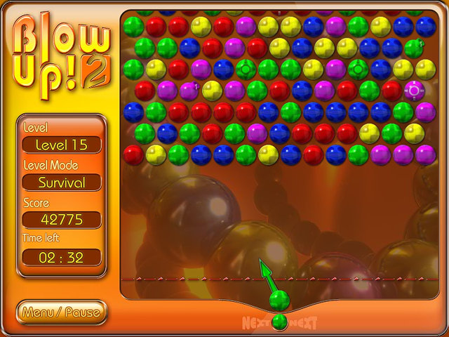 Free Games For Free : Blow up free bubble game play online marble popper games